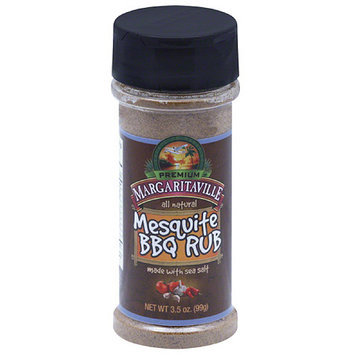 Margaritaville Premium Mesquite BBQ Rub, 3.5 oz, (Pack of 12)