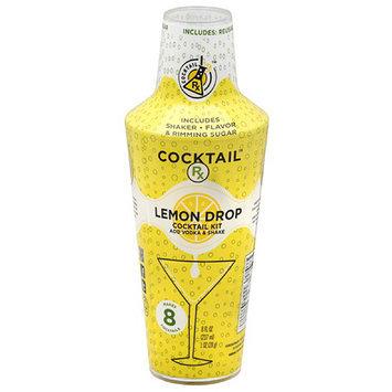 Four Blue Cocktail Rx Lemon Drop Cocktail Kit, 8 fl oz, (Pack of 6)
