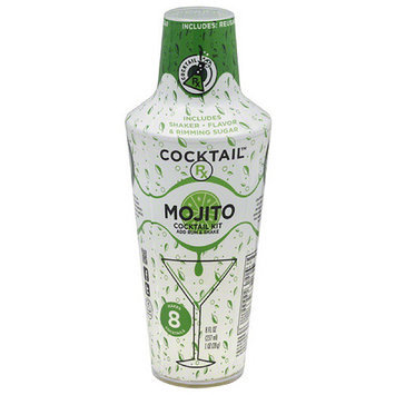 Four Blue Cocktail Rx Mojito Cocktail Kit, (Pack of 6)