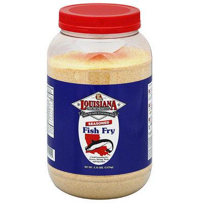 Louisiana Fish Fry Products Seasoned Fish Fry Mix, 5.75 lbs, (Pack of 4)