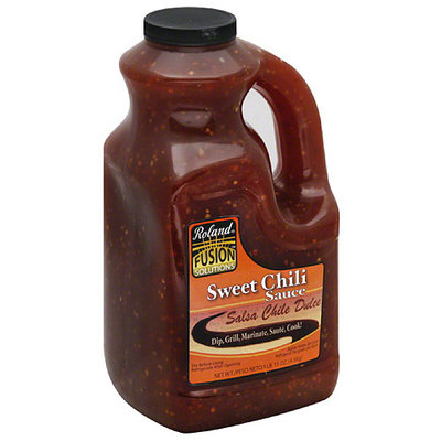 Roland Fusion Solutions Sweet Chili Sauce, 1 gal, (Pack of 2)