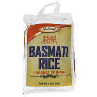 Roland Indian Super Quality Basmati Rice, 11 lbs, (Pack of 4)