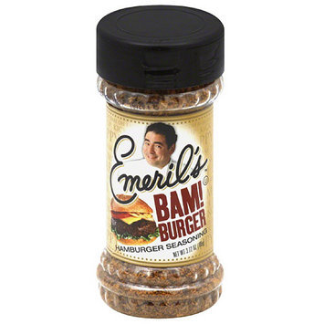 Emeril's Bam! Burger Hamburger Seasoning, 3.72 oz, (Pack of 6)