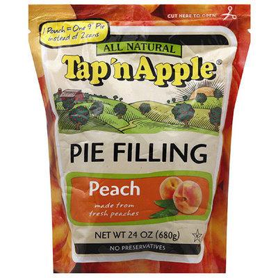 Tap N Apple Tap 'n Apple All Natural Peach Pie Filling, 24 oz, (Pack of 6)