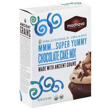 Madhava Honey Madhava Chocolate Cake Mix, 15.3 oz, (Pack of 6)