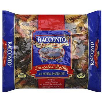 Racconto Tri-Color Rotini Pasta, 16 oz, (Pack of 20)