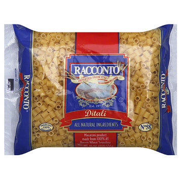 Racconto Ditali Pasta, 16 oz, (Pack of 20)