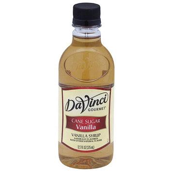 DaVinci Gourmet Cane Sugar Vanilla Syrup, 12.7 fl oz, (Pack of 6)