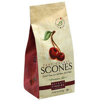 Sticky Fingers Bakeries Tart Cherry Scones Mix, 15 oz, (Pack of 6)