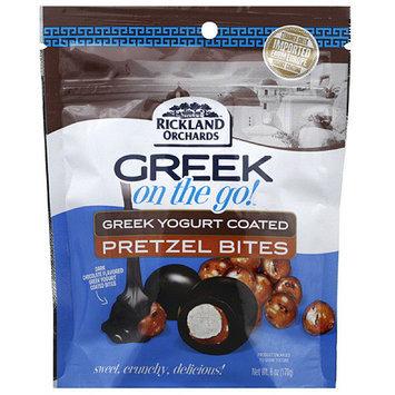 Rickland Orchards Greek on the Go! Greek Yogurt Coated Pretzel Bites, 6 oz, (Pack of 6)