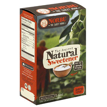 Norbu The Ancient Natural Sweetener, 5.6 oz, (Pack of 4)