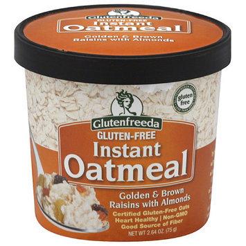 Glutenfreeda's Glutenfreeda Golden & Brown Raisins with Almonds Gluten Free Instant Oatmeal, 2.64 oz