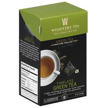 Wissotsky Wissotzky Tea Timeless Green Tea Bags, 16 count, 1.4 oz, (Pack of 6)
