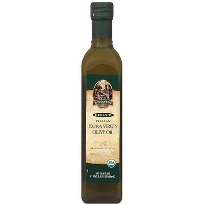 Bonavita Organic Italian Extra Virgin Olive Oil, 16.9 fl oz, (Pack of 6)