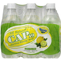 Cap10 Lemon-Lime Sparkling Mineral Water, 120 fl oz, (Pack of 4)