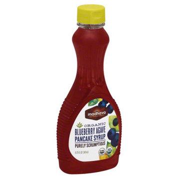 Madhava Honey Madhava Organic Blueberry Agave Pancake Syrup, 11.75 fl oz, (Pack of 6)
