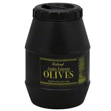 Roland Jumbo Kalamata Olives, 70 oz, (Pack of 6)