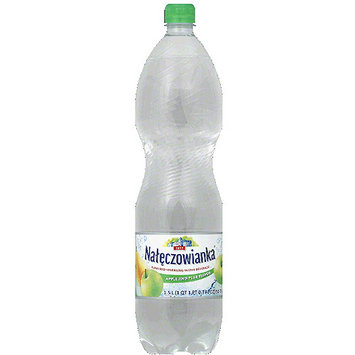 Naleczowianka Apple and Pear Flavored Sparkling Water Beverage, 50.7 fl oz, (Pack of 6)