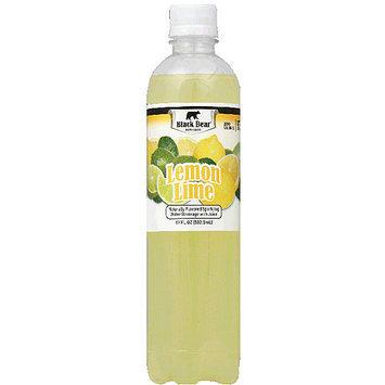 Black Bear Lemon Lime Sparkling Water, 17 fl oz, (Pack of 12)