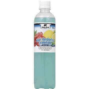 Black Bear Beverages Blue Raspberry Lemonade Sparkling Water Beverage, 17 fl oz, (Pack of 12)