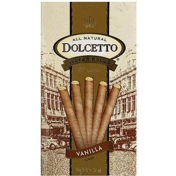 Dolcetto Vanilla Wafer Rolls, 4.4 oz, (Pack of)