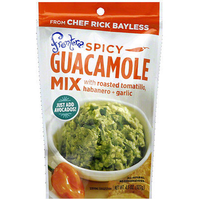Frontera Spicy Guacamole Mix, 4.5 oz, (Pack of 8)