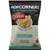 Gefen PopCorners Sea Salt Popped Corn Chips, 5 oz, (Pack of 12)