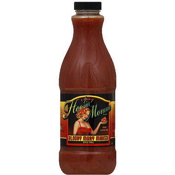 Hoosier Momma Spicy Bloody Mary Maker, 32 fl oz, (Pack of 12)