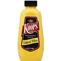 Koops' Original Yellow Mustard, 12 oz, (Pack of 12)