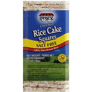 Paskesz Salt Free Rice Cake Squares, 4.9 oz, (Pack of 12)