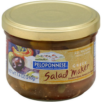 Peloponnese Greek Salad Maker, 7.4 oz, (Pack of 6)