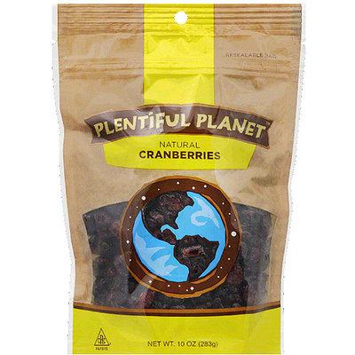 Plentiful Planet Cranberries, 10 oz, (Pack of 6)