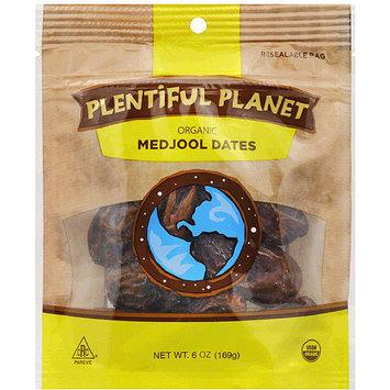 Plentiful Planet Organic Medjool Dates, 6 oz, (Pack of 6)