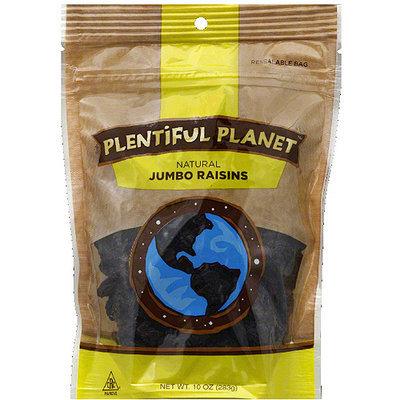 Plentiful Planet Jumbo Raisins, 10 oz, (Pack of 6)