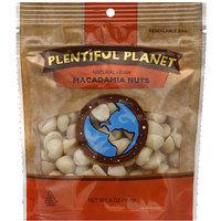 Plentiful Planet Raw Macadamia Nuts, 6 oz, (Pack of 6)