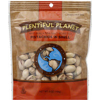Plentiful Planet Pistachios in Shell, 6 oz, (Pack of 6)