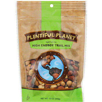 Plentiful Planet High Energy Trail Mix, 10 oz, (Pack of 6)