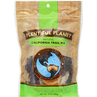 Plentiful Planet California Trail Mix, 10 oz, (Pack of 6)