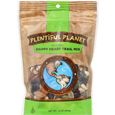 Plentiful Planet Happy Heart Trail Mix, 10 oz, (Pack of 6)