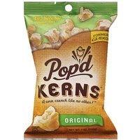 Pop'd Kerns Original Popcorn, 7 oz, (Pack of 12)