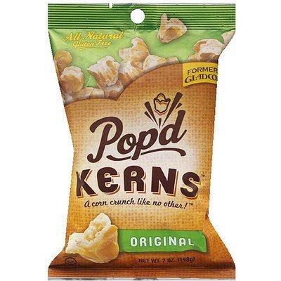 Pop'd Kerns Original Popcorn, 7 oz, (Pack of 12)