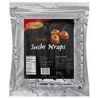 Roland Orange Sushi Wraps, 20 count, 1.76 oz, (Pack of 6)