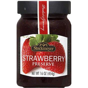 Stockmeyer Strawberry Preserve, 16 oz, (Pack of 10)