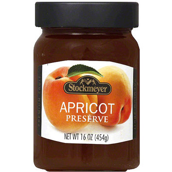 Stockmeyer Apricot Preserve, 16 oz, (Pack of 10)