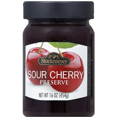 Stockmeyer Sour Cherry Preserve, 16 oz, (Pack of 10)