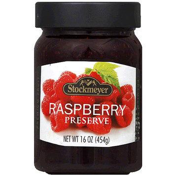 Stockmeyer Raspberry Preserve, 16 oz, (Pack of 10)