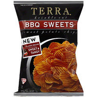 Terra Krinkle Cut BBQ Sweets Sweet Potato Chips, 5.75 oz, (Pack of 12)