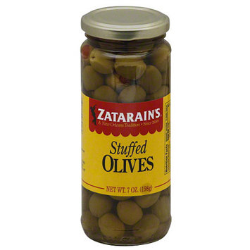 Zatarain's Stuffed Olives, 7 oz, (Pack of 12)
