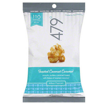 479 Degrees Toasted Coconut Caramel Artisan Popcorn, 5.25 oz, (Pack of 12)