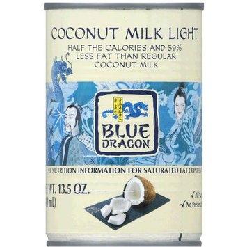Blue Dragon Light Coconut Milk, 13.5 oz, (Pack of 12)